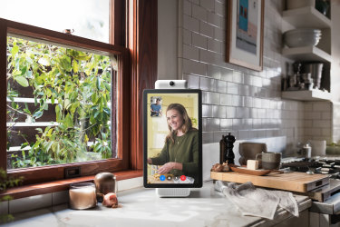 Facebook's Portal also comes in a larger version, called the Portal+.