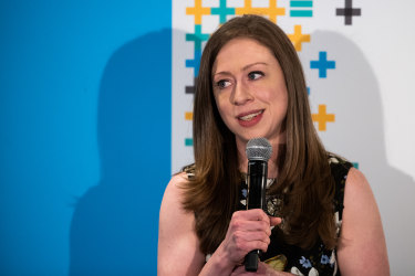 Chelsea Clinton lashed out at the Trump administration.