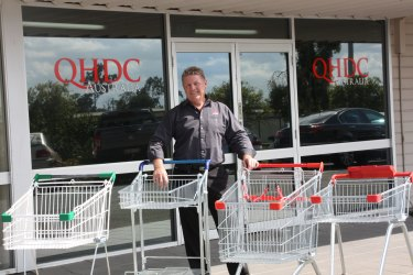 Wayne Sully, director of QHDC Australia, says retailers are upgrading shopping trolleys more frequently.