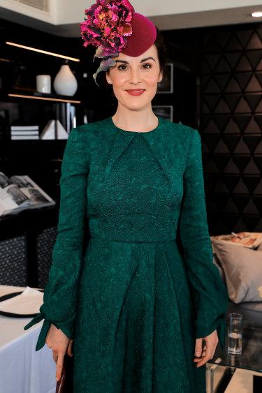 2018: Actress Michelle Dockery