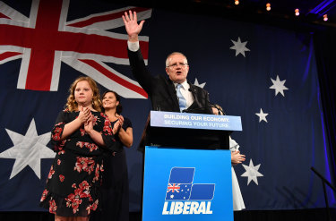 Scott Morrison's election victory came despite a fall in turnout and an increase in informal votes.