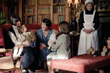 Many of the stars of the  TV series have returned for the film version of Downton Abbey.