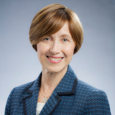 Renee Leon, Charles Sturt University's new vice-chancellor and former department of human services secretary.