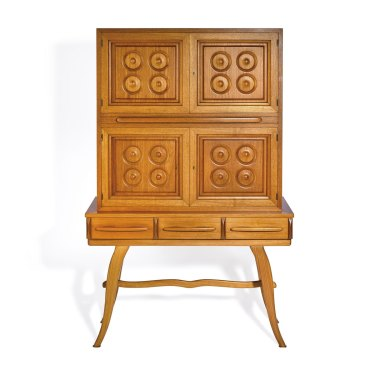 A Schulim Krimper cocktail cabinet – circa 1965  –  sold at auction for $23,000.