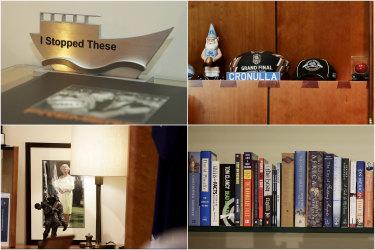 Boats, balls and books: inside Scott Morrison's Parliament House office.
