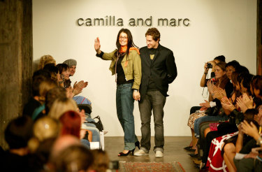 One of Camilla and Marc's earliest shows at Fashion Week Australia, in 2004.
