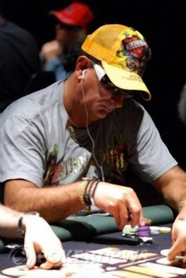 Professional poker player, Bill Jordanou.