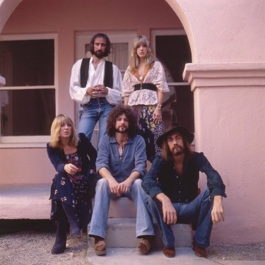 The classic line-up of Fleetwood Mac (clockwise from top left): John McVie, Stevie Nicks, Mick Fleetwood, Lindsey Buckingham and Christine McVie.