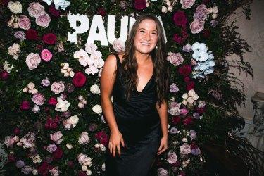 Paula Pratt at her 21st Birthday in Watson's Bay last Saturday.