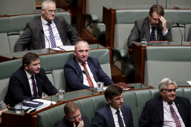 Former Nationals leader Barnaby Joyce.