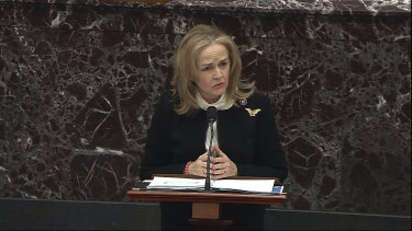 House impeachment manager Madeleine Dean.