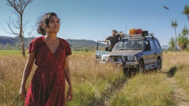 Miranda Tapsell in <i>Top End Wedding</I>.