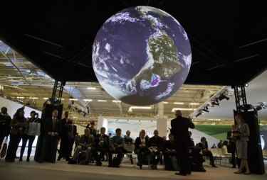 The US exhibition at the 2015 Paris climate summit: the return of a Democrat in the White House will add to the global momentum to act.