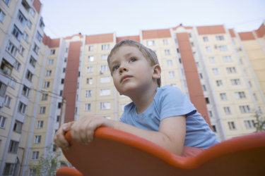 The key to successful integration of families living in high-rise is careful planning.