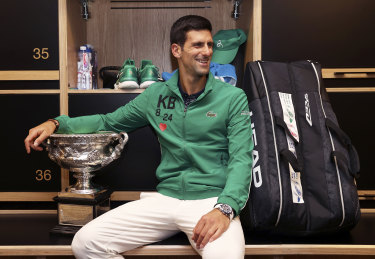 Novak Djokovic, an eight-time Australian Open champion, is used to getting his way in Melbourne.