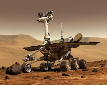 NASA's Mars rover, Opportunity.
