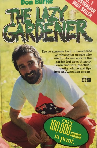 Don Burke gardening book published 1983