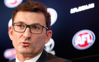 AFL executive Travis Auld.