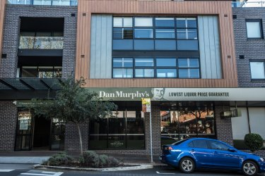 A proposed liquor store in Coogee would be in a similar mixed retail/residential development as the Dan Murphy's in Mosman.