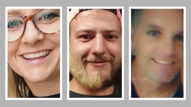 Accused killers Samantha Grace Guillerme, 24, Jake Brown, 28, and Andrew Price, 47, were charged this week.