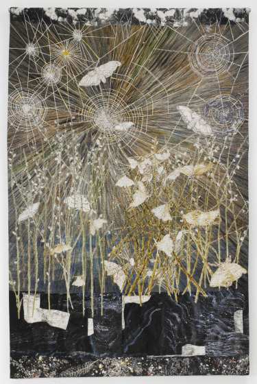 Spinners, 2014, by Kiki Smith.