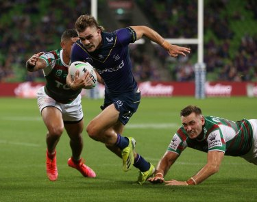 Ryan Papenhuyzen's work-rate  is as much as 30 percent higher than his Storm predecessor Billy Slater.