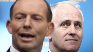 Tony Abbott and Malcolm Turnbull were leadership rivals for close to a decade.