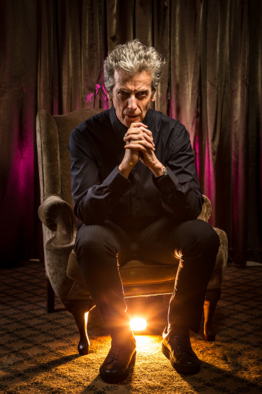 Peter Capaldi, best known as the Twelfth Doctor Who (or, perhaps, as the one and only Malcolm Tucker), is in Australia for the fan convention Supanova.
