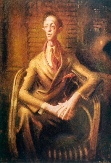 William Dobell's controversial <i>Portrait of an Artist (Joshua Smith)</i>, 1943.