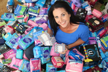 Share the Dignity was founded by Rochelle Courtenay in 2015 and takes donations and distributes them to disadvantaged women.