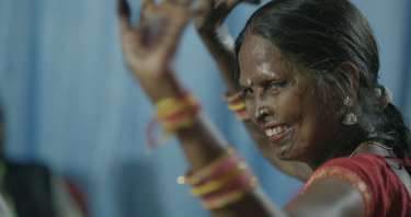 Geeta Mahour tells the story of her husband's acid attack in Geeta.