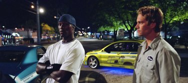 Tyrese Gibson, left, joined the Fast crew in 2003's 2 Fast 2 Furious.