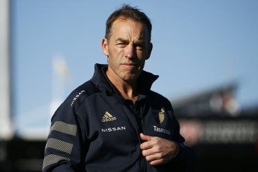 Alastair Clarkson is contracted to coach Hawthorn in 2022.
