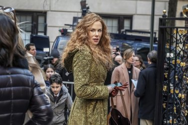 Star of the Undoing, Nicole Kidman, has been nominated for best actress in a miniseries or television motion picture.