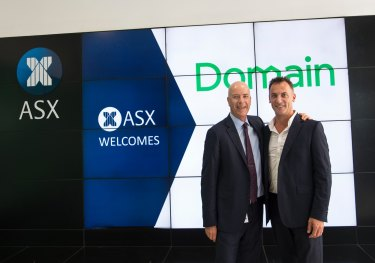 Antony Catalano has resigned from Domain Group months after the company listed on the ASX.