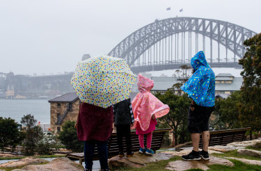 Sydney has just posted its wettest year since 1998 and the outlook isn't looking much brighter for a while at least.