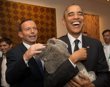 G20: koala cuddling and some pretty important statements about the future of tax.