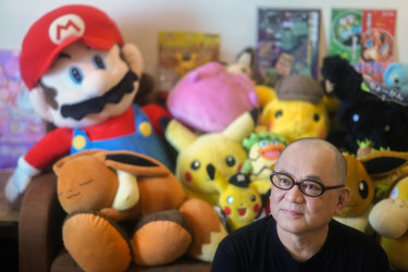 Toru Hashimoto's cafe is a nostalgic repository for objects he kept during his decade as an engineer at Nintendo.