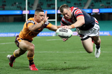 At 34, Josh Morris is in evergreen form for the Roosters.