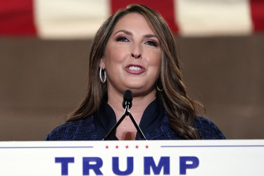 Republican National Committee chairwoman Ronna McDaniel.