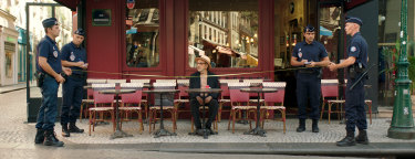 Elia Suleiman is the fool in the middle of most of his scenes, waiting to be poleaxed by life.
