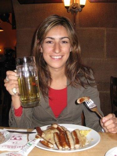 Rachel Muscat in Nuremberg were she regularly visited Adidas' headquarters.