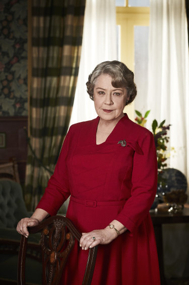 Noni Hazlehurst as matriarch Elizabeth Bligh in A Place to Call Home.