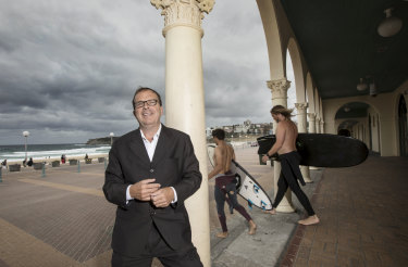 Waverley mayor John Wakefield said new plans to refurbish the Bondi Pavilion would cost an estimated $20 million to $25 million.