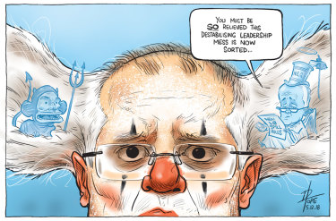The Canberra Times' editorial cartoon for Wednesday, December 5, 2018.