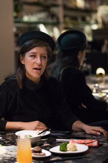 Sophia Brous at Izakaya Den: ''I'm a notorious over-orderer.''