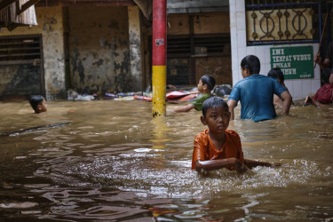 Indonesia faces multiple climate change risks, with sea-level rises just one of them, according to Robert Glasser at the Australian Strategic Policy Institute.