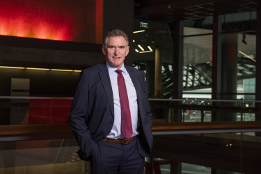 """""""I just remind people it was only 12 months ago that this economy lost 900,000 jobs in two months, which was magnitudes greater than what happened in the global financial crisis"""": NAB chief Ross McEwan."""