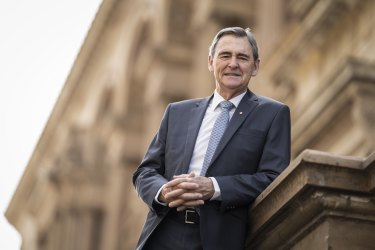 Former Victorian Treasurer John Brumby is now chair of the International Education Advisory Council
