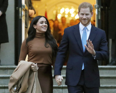 """""""We believe in the best of humanity,"""" write the Duke and Duchess of Sussex, on the website for their new charitable foundation."""